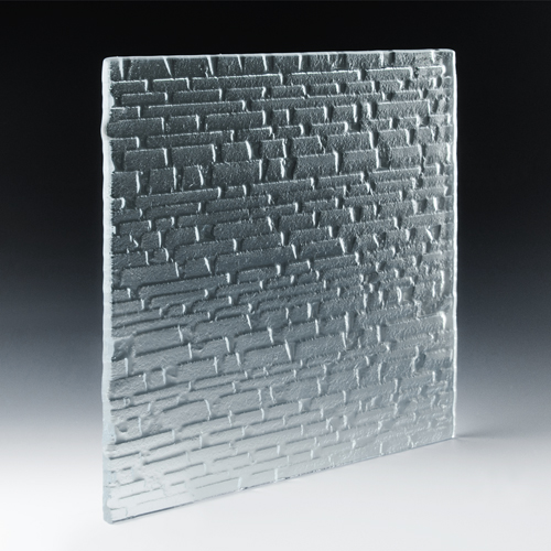 Steppe Low Iron Textured Glass