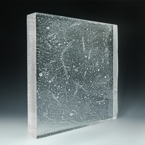 Crystalline Clear Glass Angle