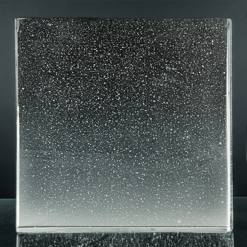 Crystalline Natural Glass Front 1