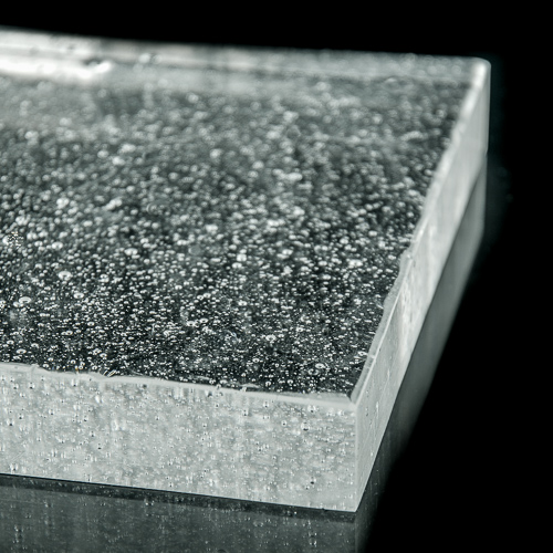 Crystalline Natural Glass flat
