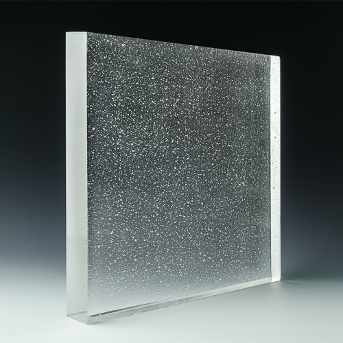 Crystalline Natural Glass Angle