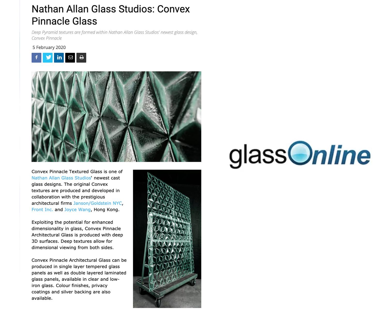 GLASS ONLINE | Convex Pinnacle Glass