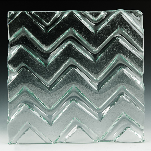 Pinnacle Textured Glass front