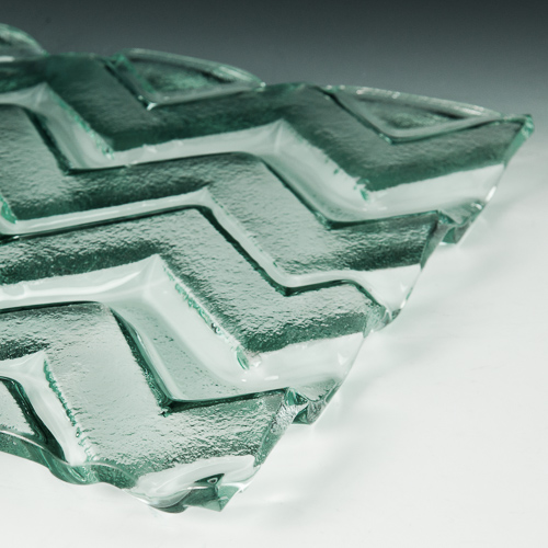 Pinnacle Textured Glass flat