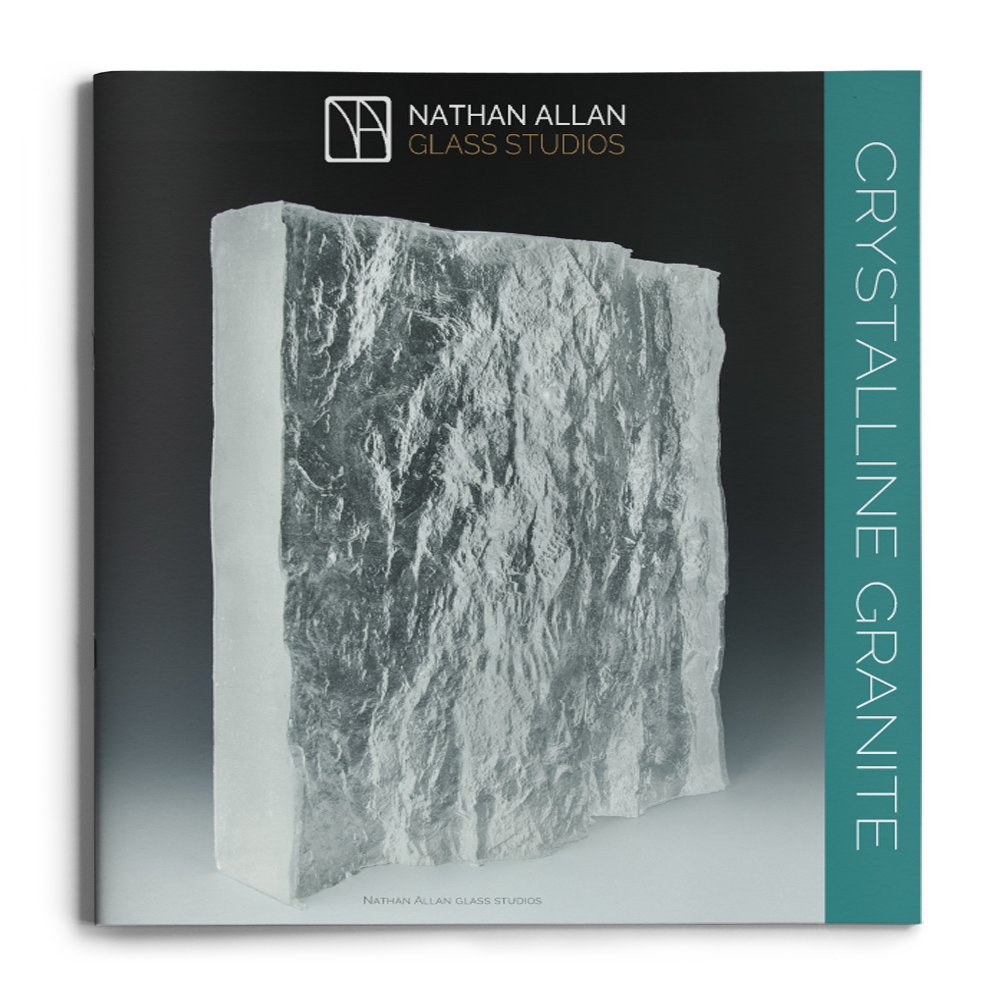 mock up brochures Crystalline Granite