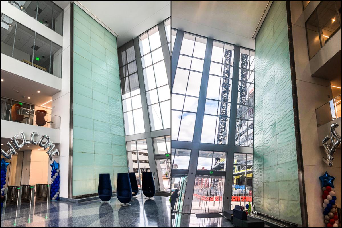 American Water Glass Wall