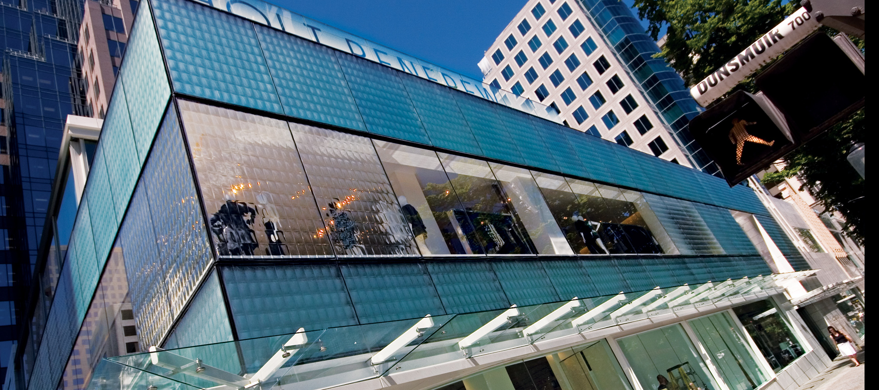 Los Angeles California Architectural Decorative Glass Building