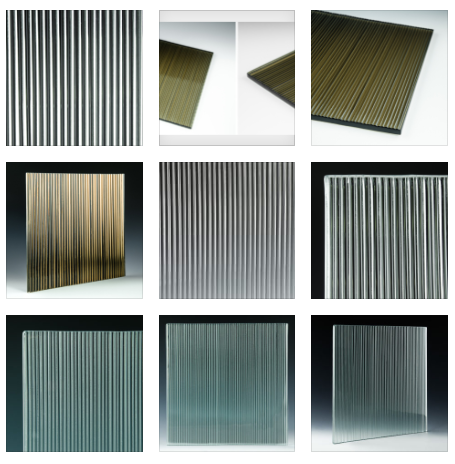 Fluted Glass Examples