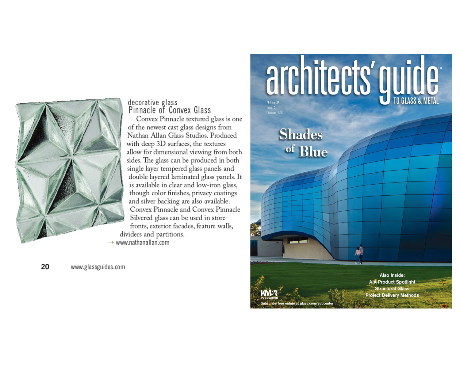 Architect's guide | Convex Pinnacle Glass