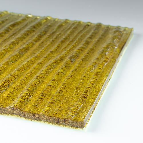 Crystal Cascade XL Amber flat 1
