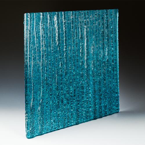 Crystal Cascade XL Aqua Blue side