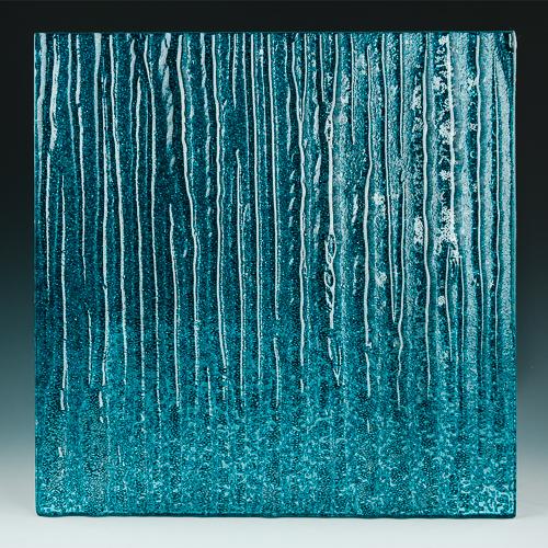 Crystal Cascade XL Aqua Blue front