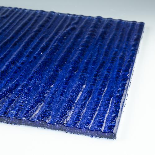 Crystal Cascade XL Cobalt flat