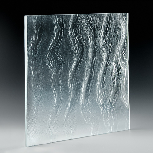 Flow Textured Glass Side Pic