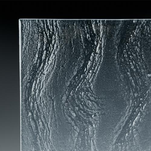 Flow Textured Glass Corner Pic