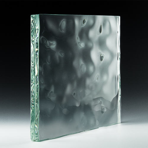 Water Textured Glass side