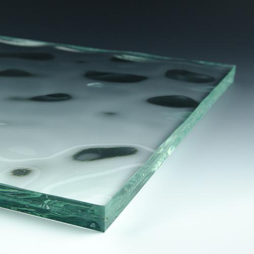 Water Textured Glass flat
