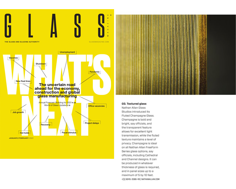 Glass Magazine | Fluted Champagne Glass
