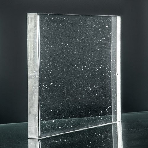 Crystalline Clear Glass side pic