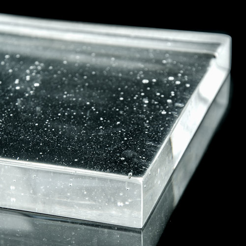 Crystalline Clear Glass flat