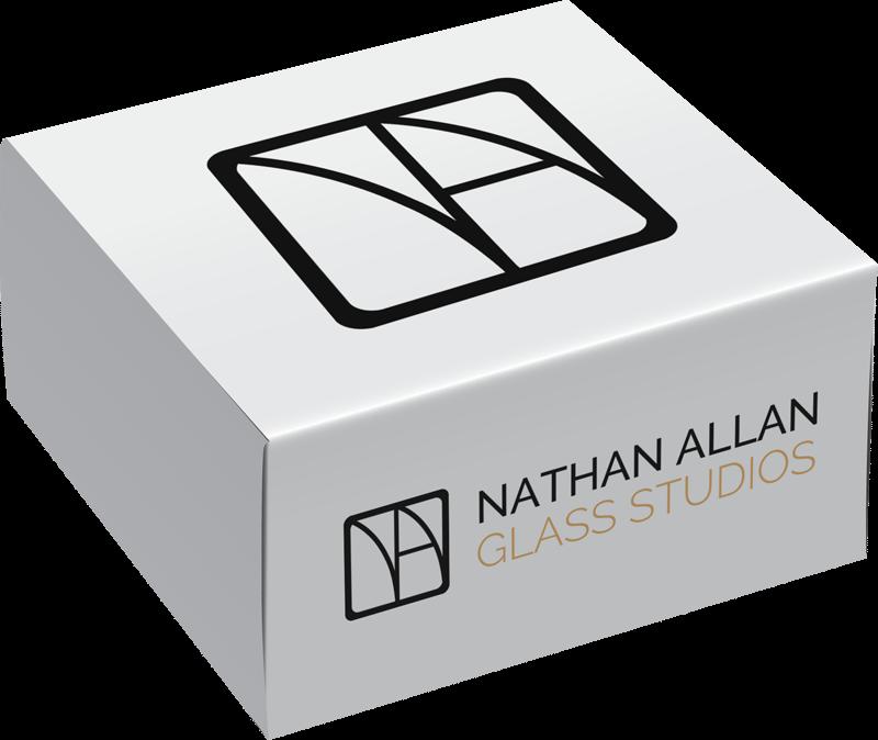 Nathan Allan Glass Samples Box
