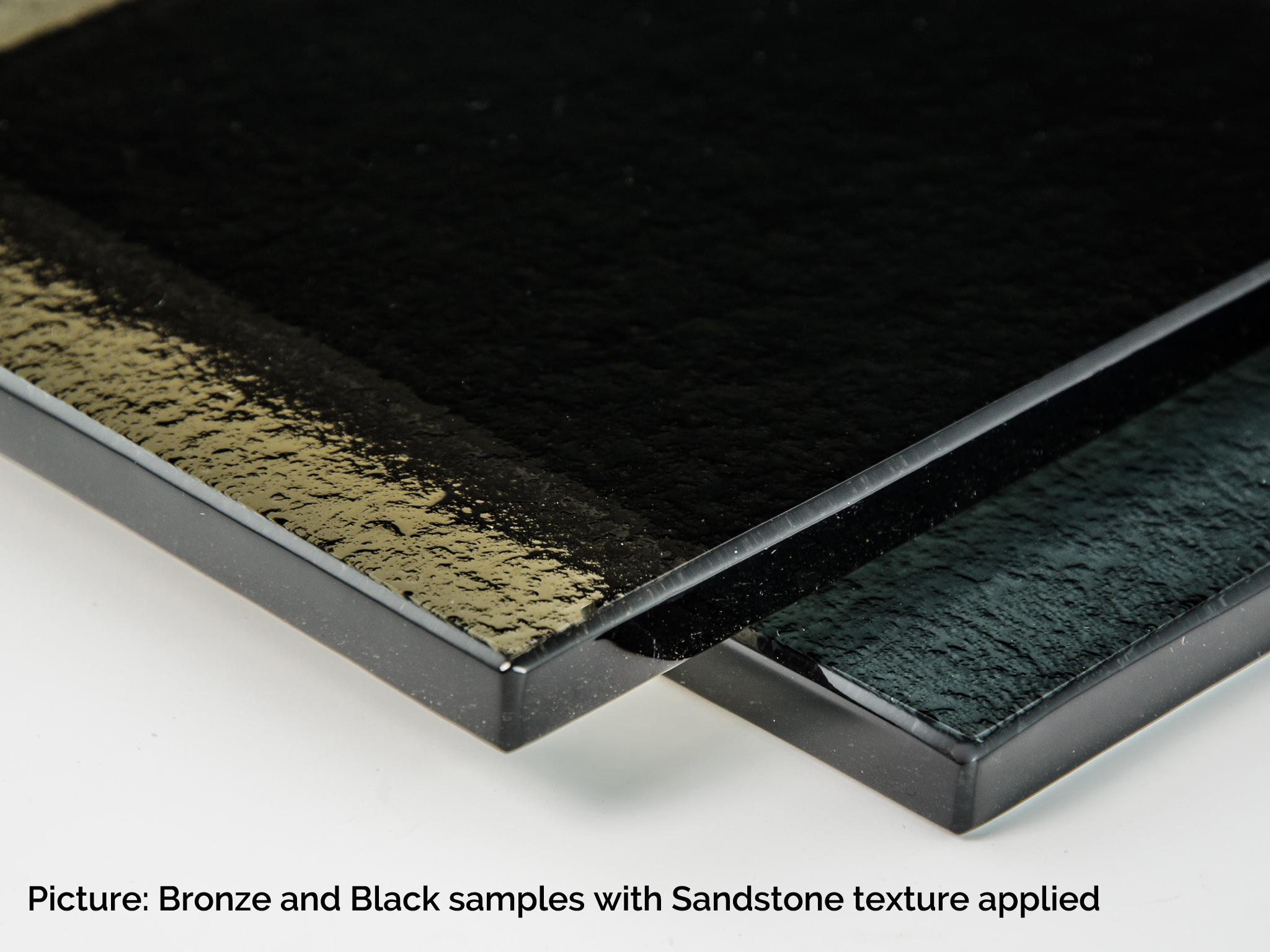 glass type bronze black