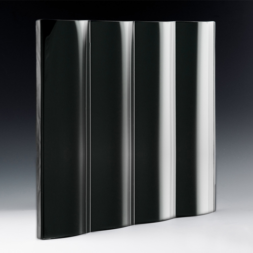 Cathedral Grande Black Silvered Glass Side