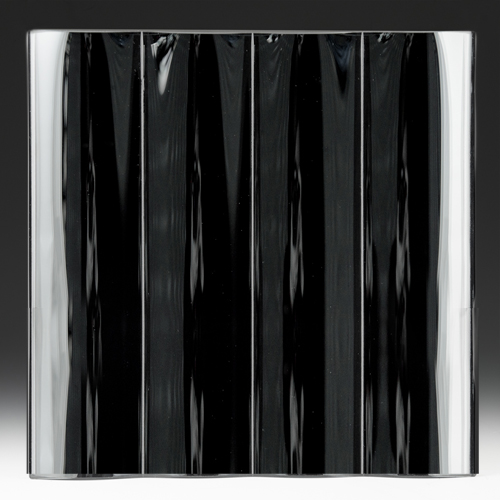 Cathedral Grande Black Silvered Glass Front