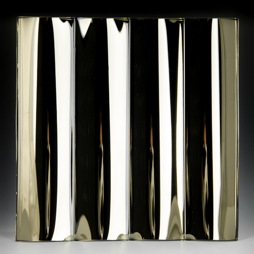 Cathedral Grande Bronze Silvered Glass Front