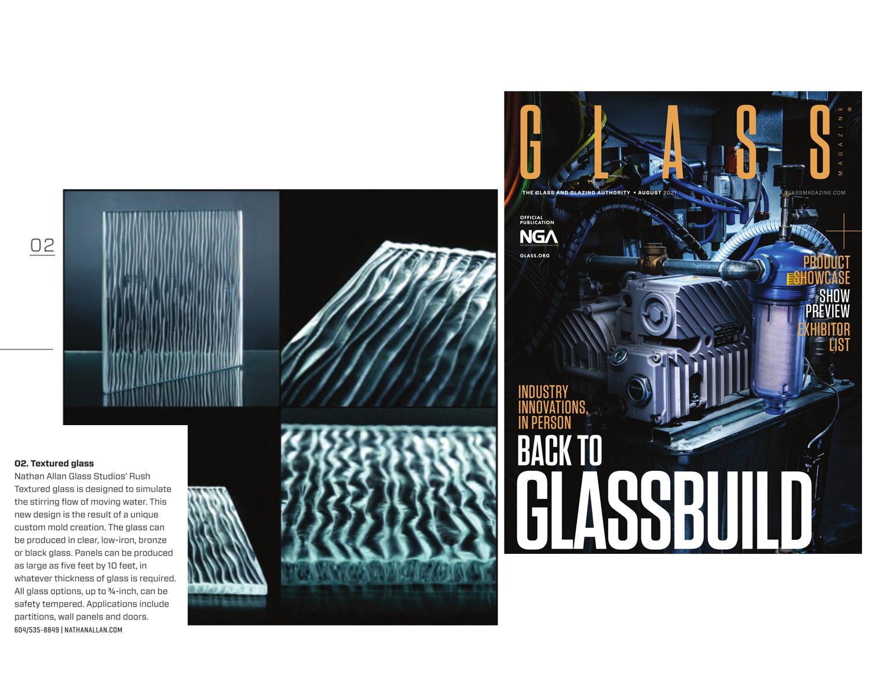GLASS MAGAZINE | Rush Textured Glass